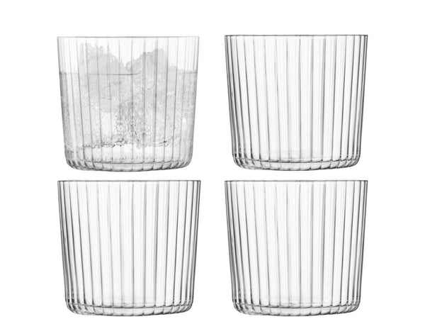 LSA International Gio Tumbler 310ml Line x 4