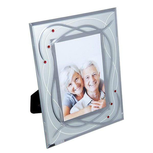 Dartington Crystal Celebrate Photo Frame Ruby