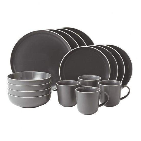 Products / Gordon Ramsay Bread Street 16 Piece Set - Slate