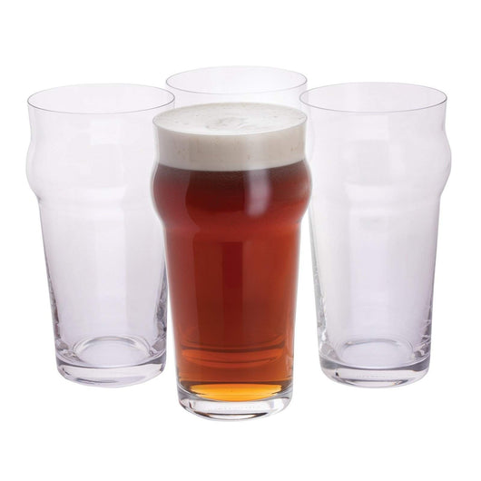 Dartington Crystal Boys' Night in Pint Glass Four Pack