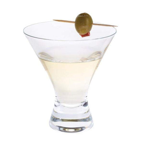 Dartington Crystal Home Bar Martini Cocktail - Set of 4