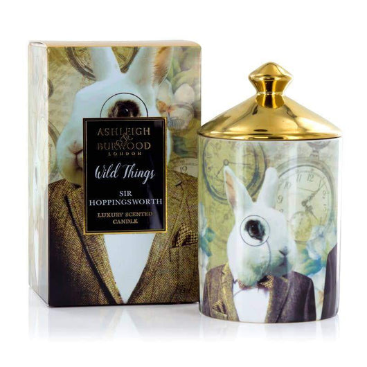 Ashleigh & Burwood Wild Things Candle Sir Hoppingsworth