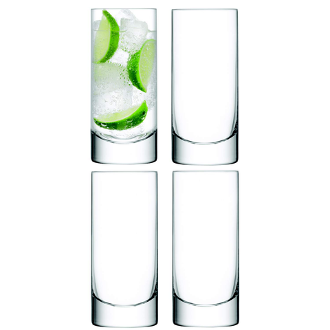 LSA Bar Highball Glasses 420ml - Set of 4