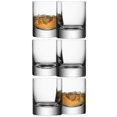 LSA Bar Tumblers 250ml - Set of 6