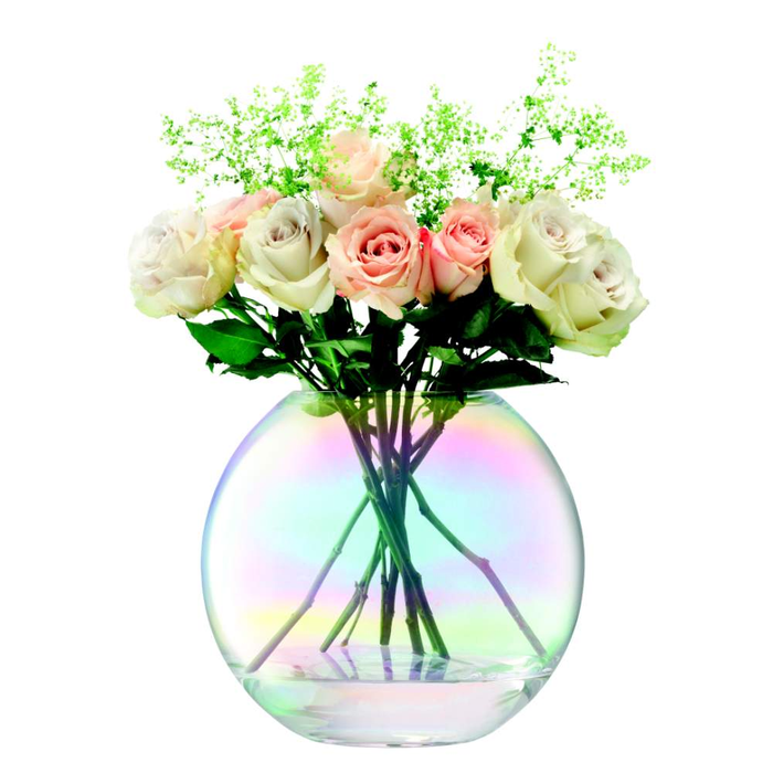 LSA Pearl Vase 24cm Mother of Pearl