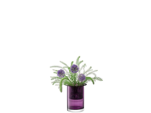 LSA International Nest Vase H23cm Heather Slate