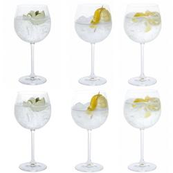 Dartington Crystal Party Gin Copa Glasses - Set of 6