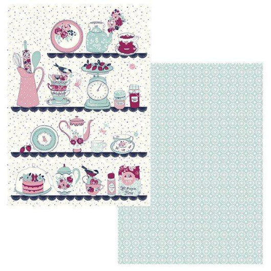 Ashley Thomas Tea Towels Set of 2