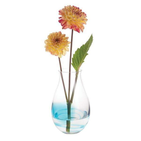 Dartington Trail Teal Tall Vase