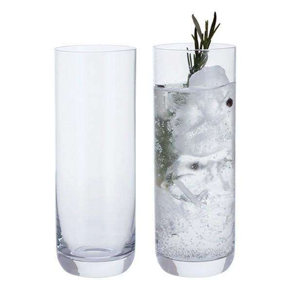 Dartington Crystal Wine and Bar Slim Gin Pair