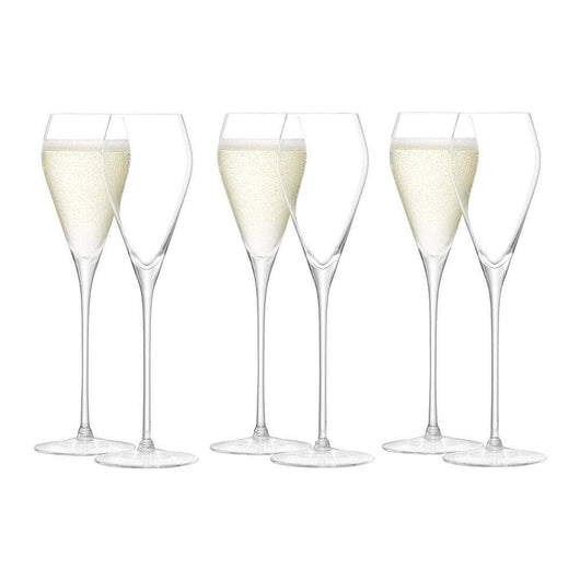 LSA International Wine Prosecco Glass 250ml x6