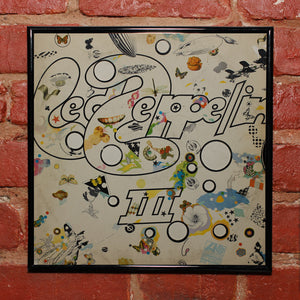 "Led Zeppelin<br>III<br>12"" Vinyl Clock"