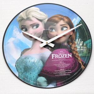 "Frozen<br>Official Soundtrack<br>12"" Vinyl Clock"