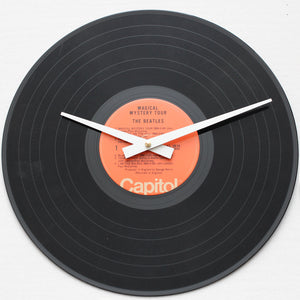 "The Beatles <br>Magical Mystery Tour <br>12"" Vinyl Clock"