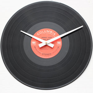 "Johnny Cash<br>Live At San Quentin<br>12"" Vinyl Clock"