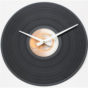 "Chubby Checker<br>Let's Twist Again<br>12"" Vinyl Clock"