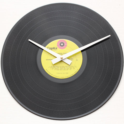 "Grand Funk Railroad<br> (The Red Album) <br>12"" Vinyl Clock"