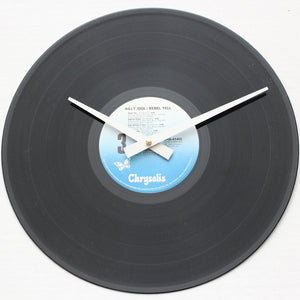 "Billy Idol<br>Rebel Yell<br>12"" Vinyl Clock"
