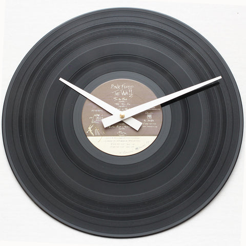 "Pink Floyd<br> The Wall Record 1<br> 12"" Vinyl Clock"