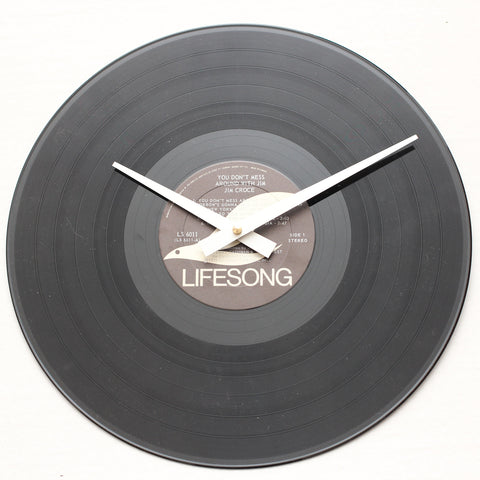 "Jim Croce<br> You Don't Mess... <br>12"" Vinyl Clock"