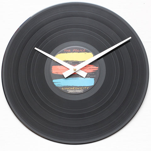 "The Police<br>Synchronicity<br>12"" Vinyl Clock"