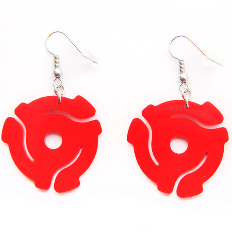 Handmade Acrylic<br>45 Spacer<br>Hook Earrings