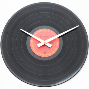 "Loverboy<br>Get Lucky<br>12"" Vinyl Clock"