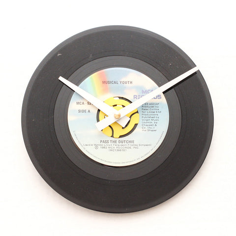 "Musical Youth<br>Pass The Dutchie<br>7"" Vinyl Clock"