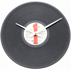 "Billy Idol<br>Billy Idol<br>12"" Vinyl Clock"