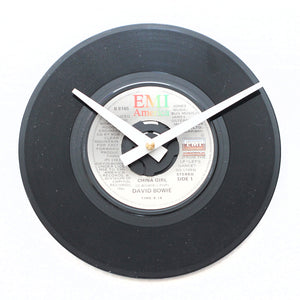 "David Bowie<br>China Girl<br>7"" Vinyl Clock"