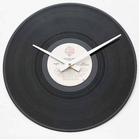 "Rod Stewart<br> Blondes Have More Fun <br>12"" Vinyl Clock"