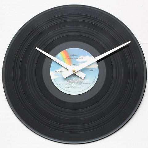 "Olivia Newton John<br>Physical<br>12"" Vinyl Clock"