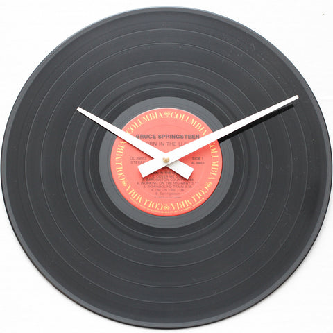 "Bruce Springsteen<br>Born In The U.S.A<br>12"" Vinyl Clock"