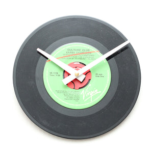 "Culture Club<br>Karma Chameleon<br>7"" Vinyl Clock"