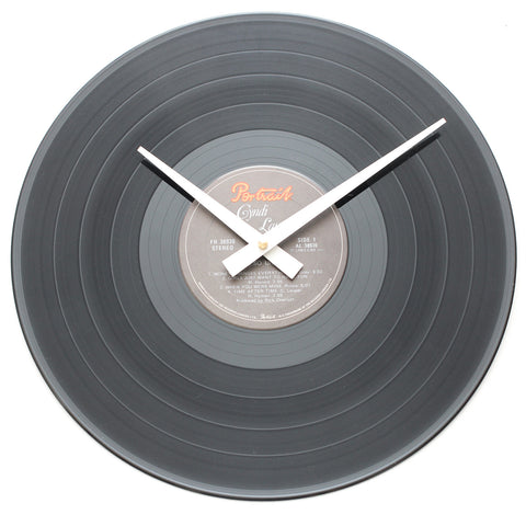 "Cyndi Lauper<br>She's So Unusual<br>12"" Vinyl Clock"