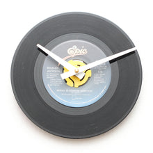 "Michael Jackson<br>Wanna Be Startin' Something<br>7"" Vinyl Clock"