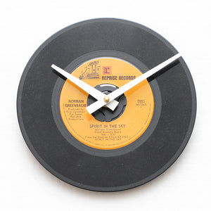"Norman Greenbaum<br>Spirit In The Sky<br>7"" Vinyl Clock"