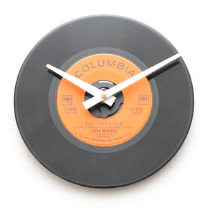 "Scott Mckenzie<br>San Francisco<br>7"" Vinyl Clock"