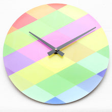 "Custom Made<br>Colourweave<br>12"" Vinyl Clock"