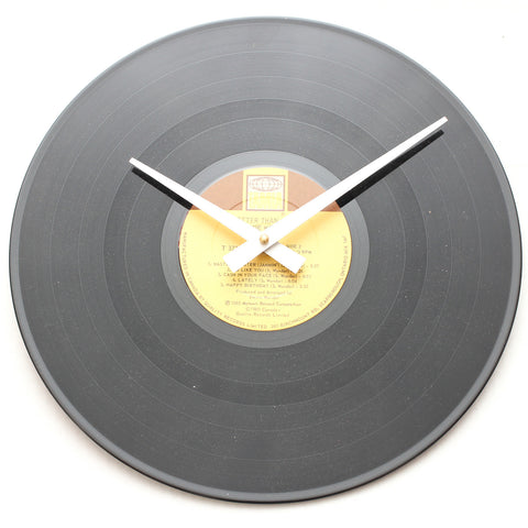 "Stevie Wonder<br>Hotter Than July<br>12"" Vinyl Clock"