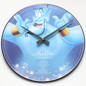 "Aladdin<br>Soundtrack<br>12"" Vinyl Clock"