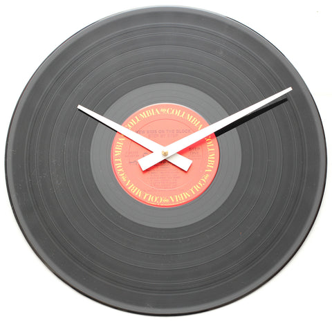 "New Kids On The Block<br>Step By Step<br>12"" Vinyl Clock"
