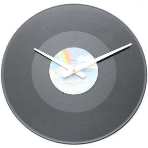 "Tiffany<br>Think We're Alone Now<br>12"" Vinyl Clock"