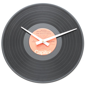 "Beach Boys<br>Concert<br>12"" Vinyl Clock"
