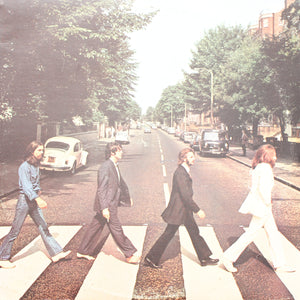 "The Beatles<br>Abbey Road <br>12"" Vinyl Clock"