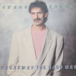 "Frank Zappa <br>Broadway The Hard Way <br>12"" Vinyl Clock"