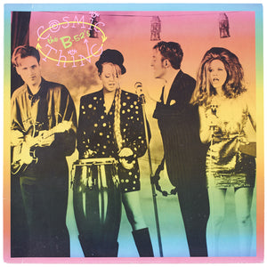 "The B-52's<br>Cosmic Thing<br>12"" Vinyl Clock"