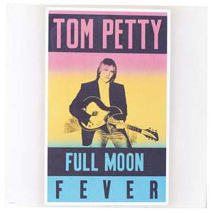 Tom Petty – Full Moon Fever Vinyl LP Clock