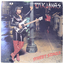 Rick James – Street Songs – Authentic Vinyl Clock Made From Original LP Record