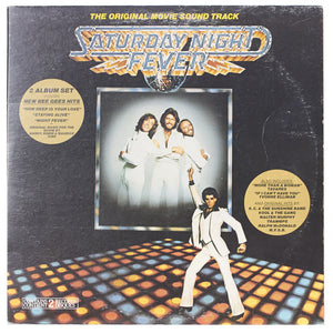 Saturday Night Fever – Soundtrack Record 1 Vinyl LP Clock